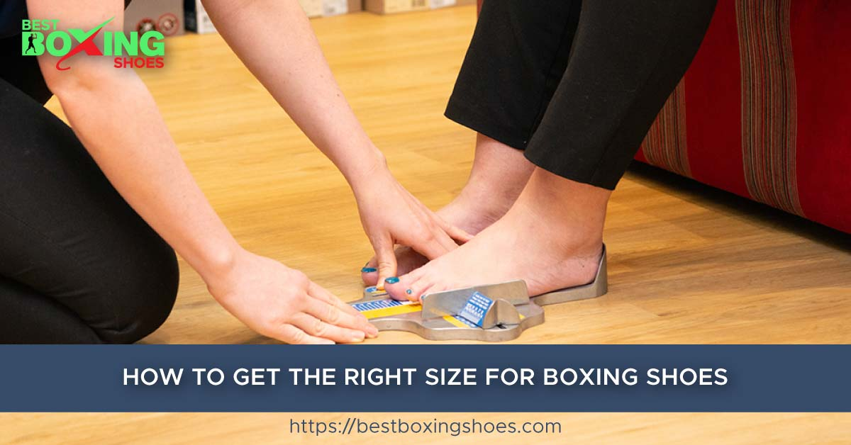 Get The Right Size For Boxing Shoes
